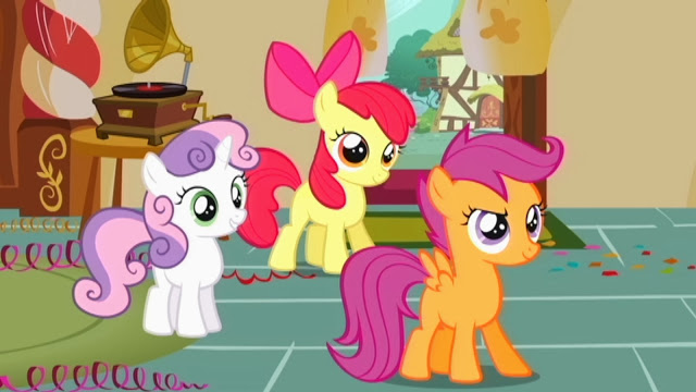 My little pony friendship is magic cutie mark crusaders - photo#28