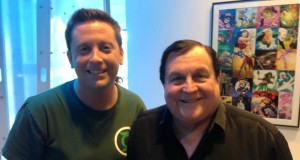 Matt-Man and Robin (Burt Ward)