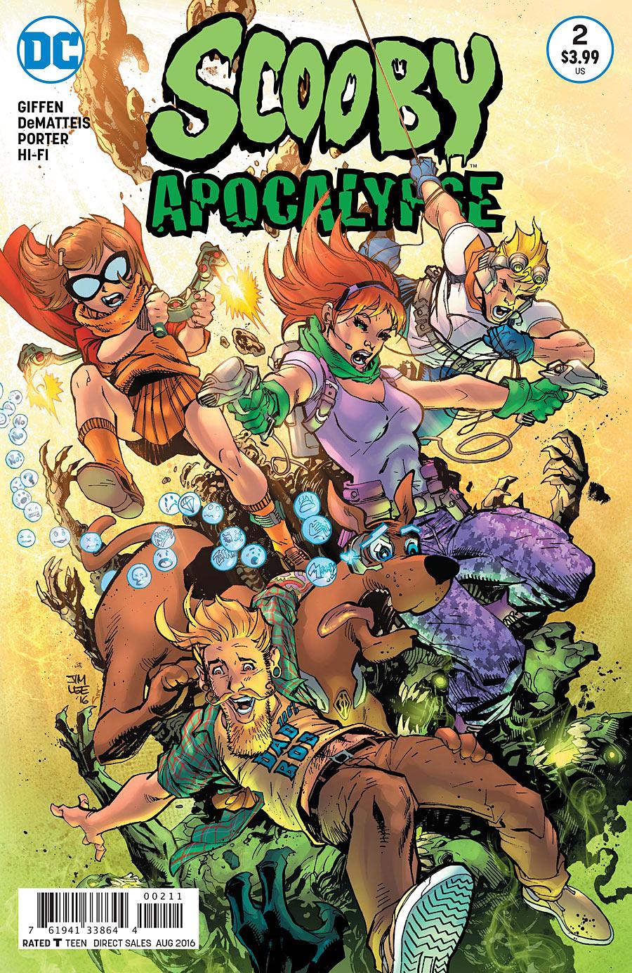 comics review  scooby apocalypse 2