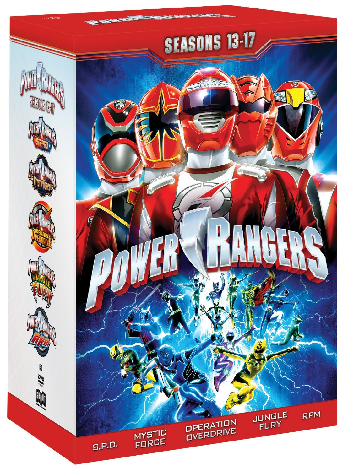 dvd review power rangers seasons 13 17 comicsonline. Black Bedroom Furniture Sets. Home Design Ideas