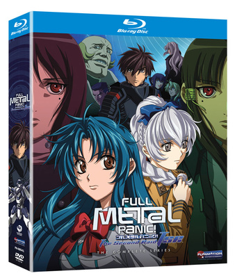 Anime Blu-ray Review: Full Metal Panic, The Second Raid