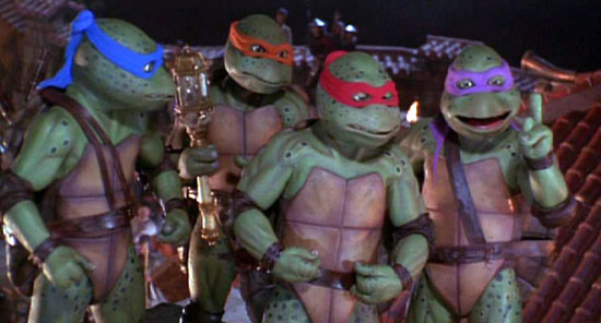 Blu-ray Review: Teenage Mutant Ninja Turtles 25th Ann. Movie Collection