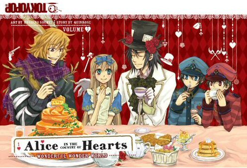 Manga Review: Alice in the Country of Hearts, Volume 2
