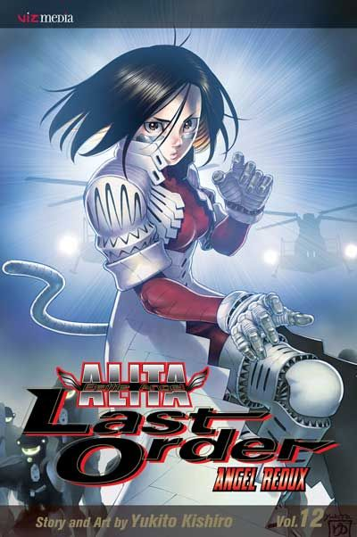 Manga Review: Battle Angel Alita: Last Order volume 12