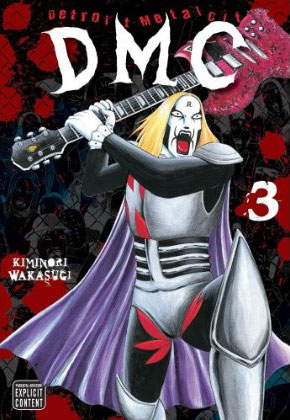 Manga Review: Detroit Metal City, Volume 3