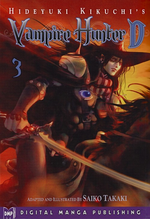 Manga Review: Vampire Hunter D, Volume 3