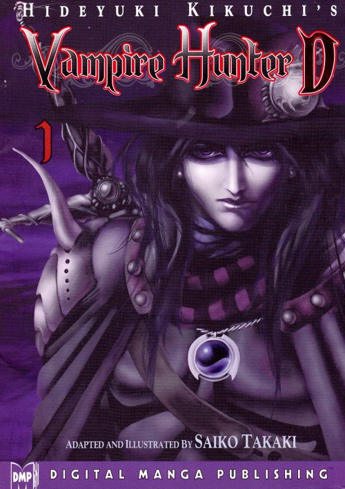 Manga Review: Vampire Hunter D, Volume 1