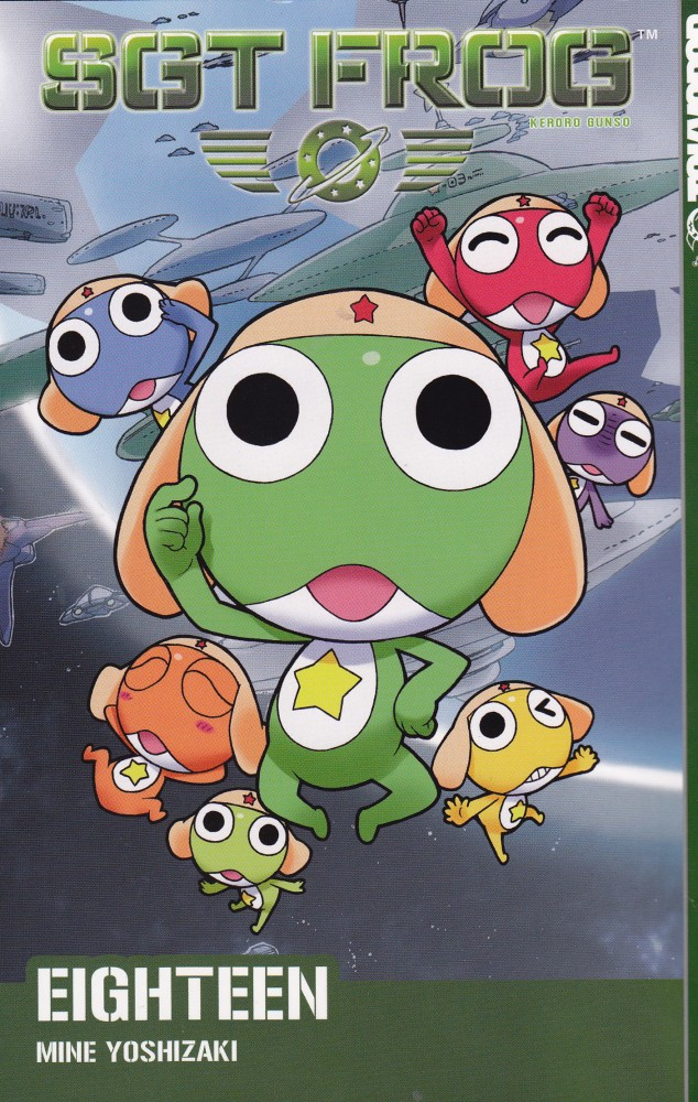 Manga Review: SGT Frog, Volume 18