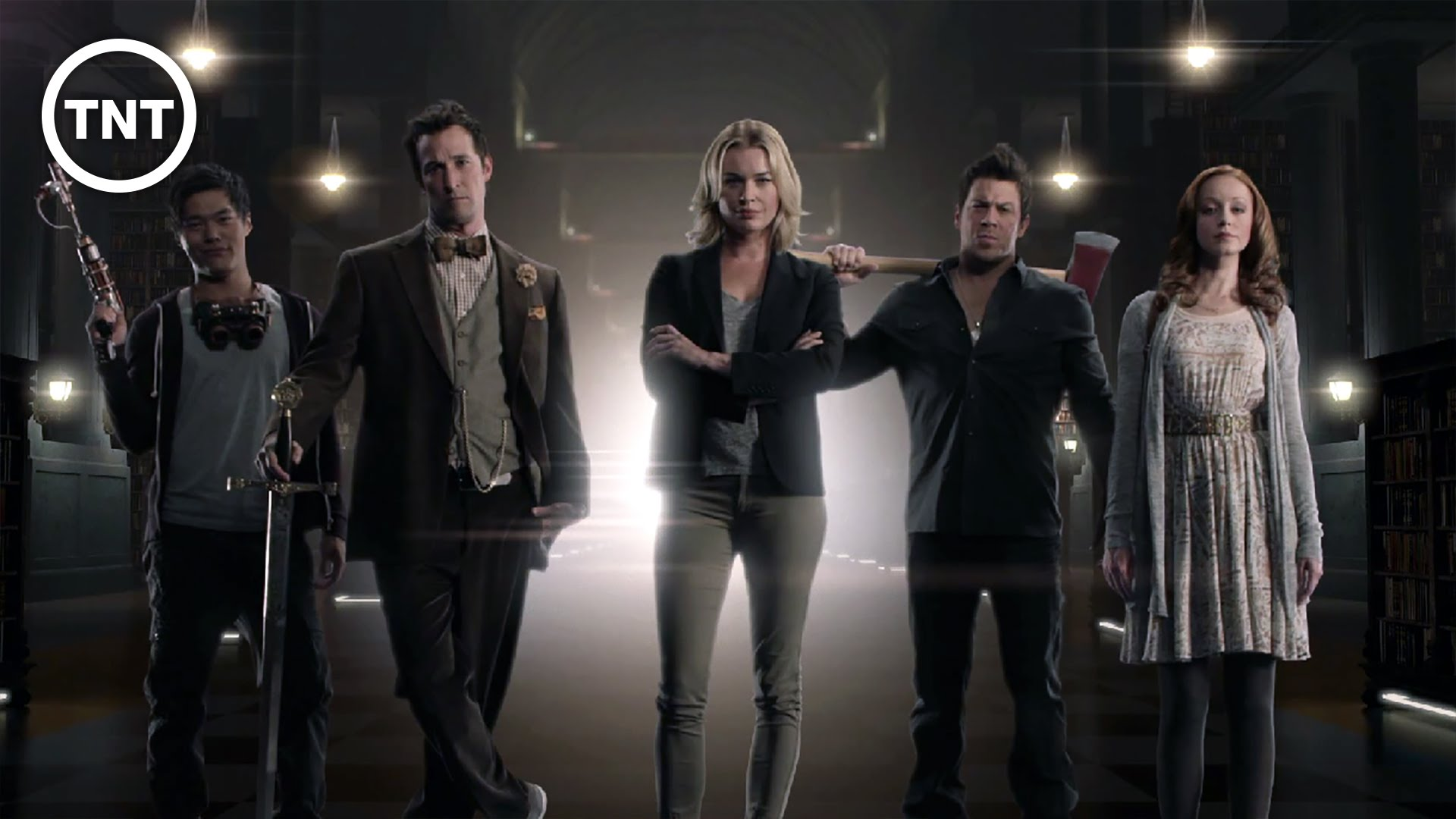 tnt renews the librarians for second season world of entertainment. Black Bedroom Furniture Sets. Home Design Ideas