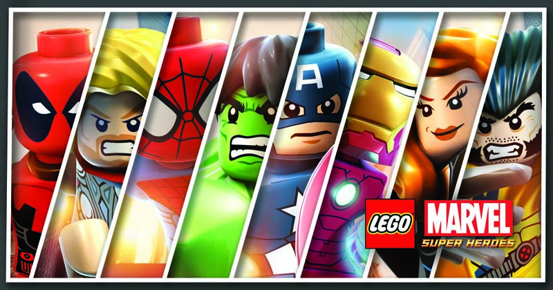 8 Lego Marvel Line Up