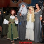 We weren't the only ones dressed up!  We found a Gandalf and Galadriel!