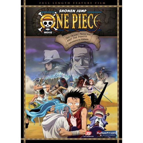 Anime Blu-ray Review: One Piece: The Desert Princess and the Pirates: Adventures in Alabasta