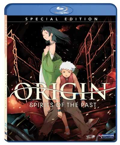 Anime Blu-ray Review: Origin: Spirits of the Past
