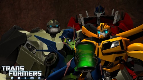 "TV News: Transformers Prime - ""Stronger, Faster"" Exclusive Pictures"