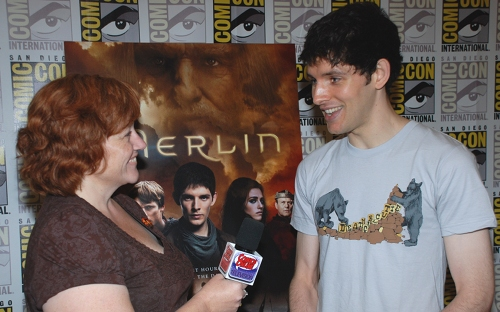 SDCC2011: Merlin - Interview Photos